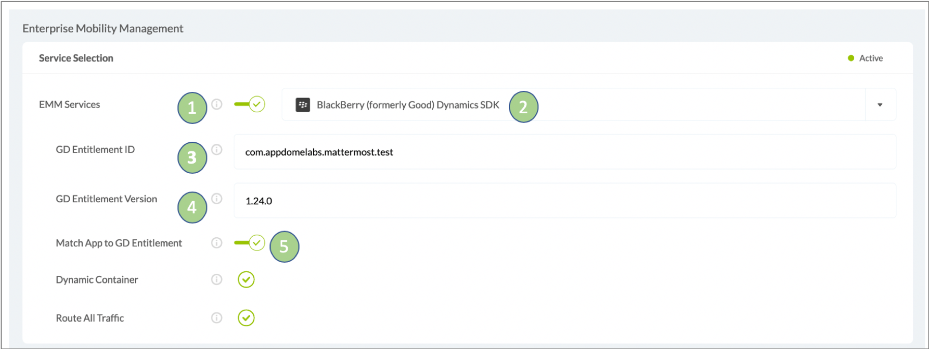 adding blackberry dynamics sdk to mattermost with no coding