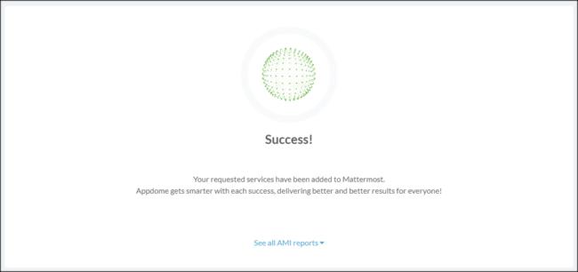 Build My App Success (Mattermost)
