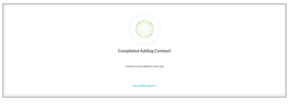 success message for customize app configuration on appdome