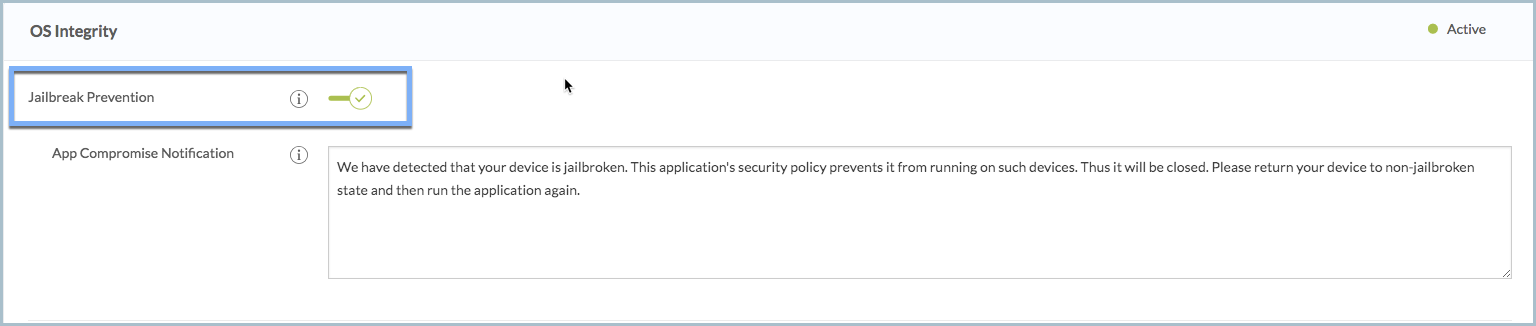 Jailbreak and Root Prevention using Appdome