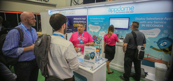 Appdome Silver Booth at Dreamforce