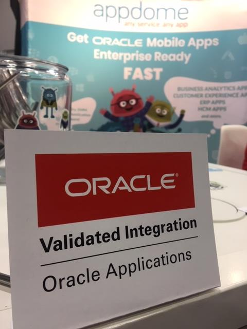 Appdome for Enterprise Mobility is an Oracle Validated Integration