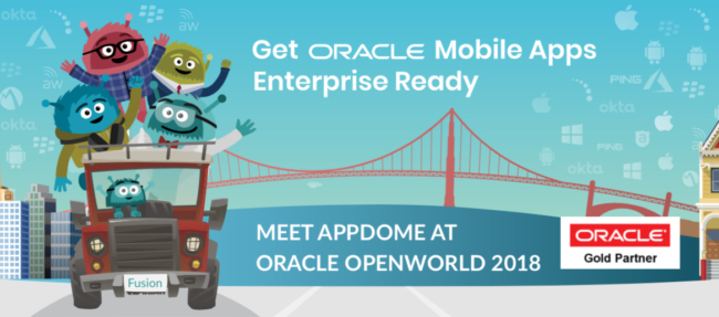 Use Appdome to add enterprise authentication and mobility management services to Oracle mobile apps.