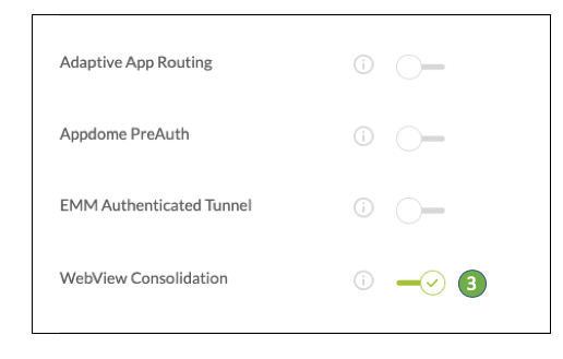 Mobile Appsec Webview Consolidation For Emm Tunneling