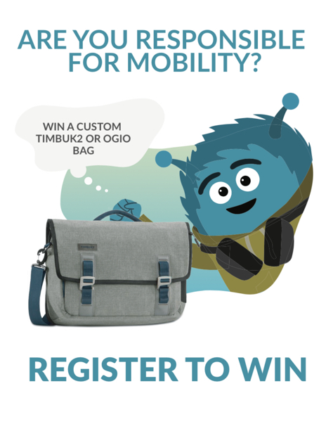 register to win a custom back pack at Oracle OpenWorld