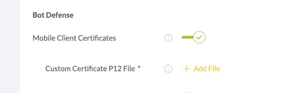 appdome mobile client certificates