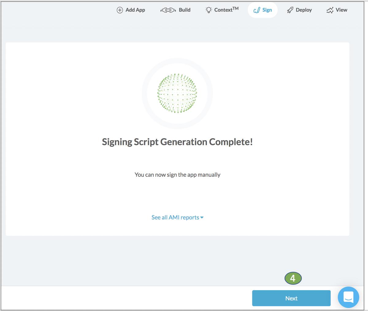 Appdome Success message SCEP Certificates Mobile Authentication