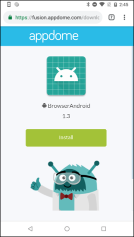 Debug app download link - troubleshooting TLS issues