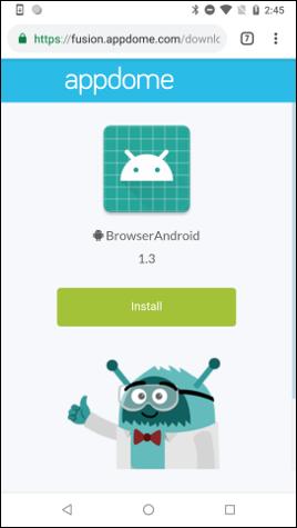 Debug app download link