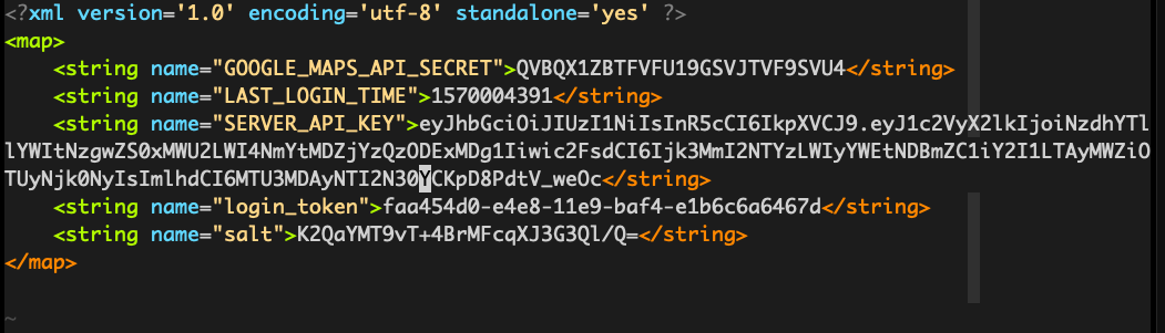 Mobile REST API Security - don't leave unencrypted mobile api strings in your app