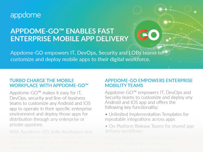 Appdome-GO