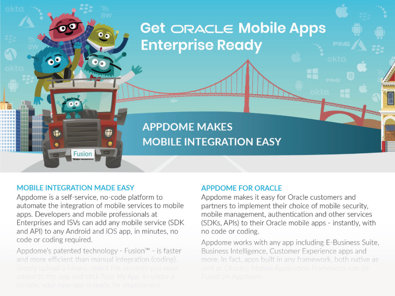 Appdome for Oracle Mobile Apps