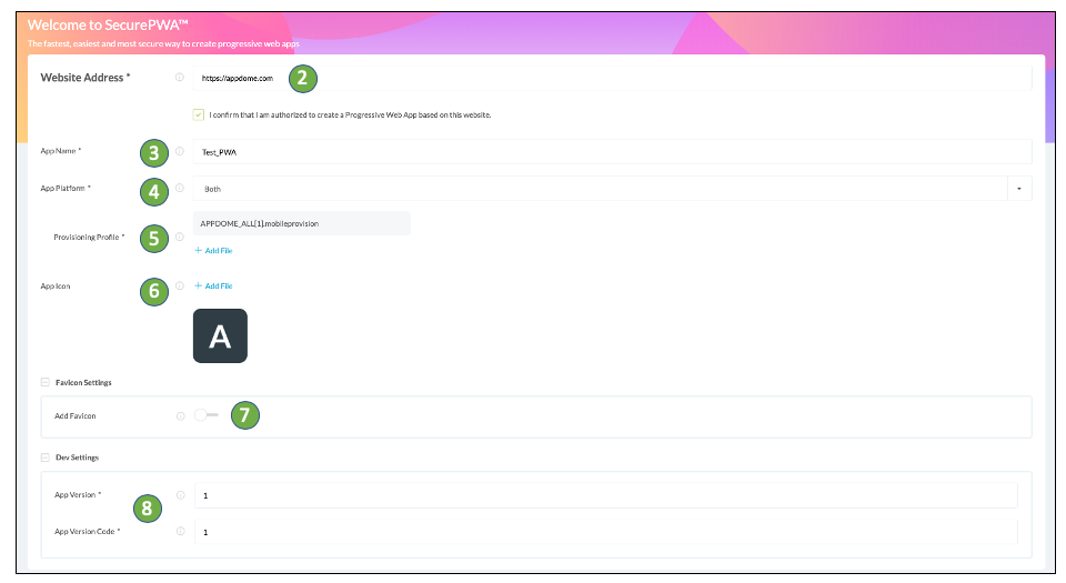 building a secure pwa (progressive web app) using appdome's no-code mobile security platform