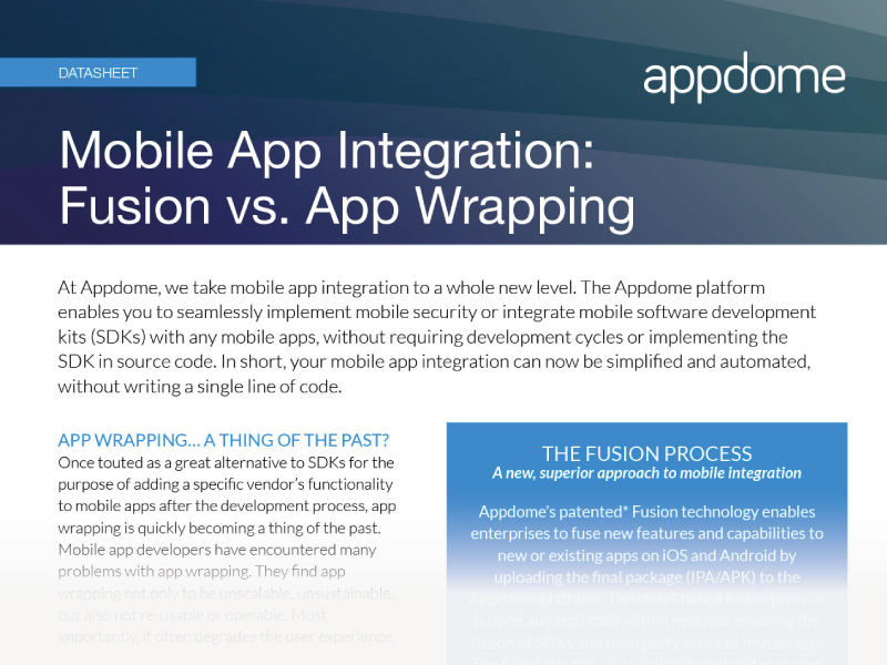Fusion is better than app wrapping