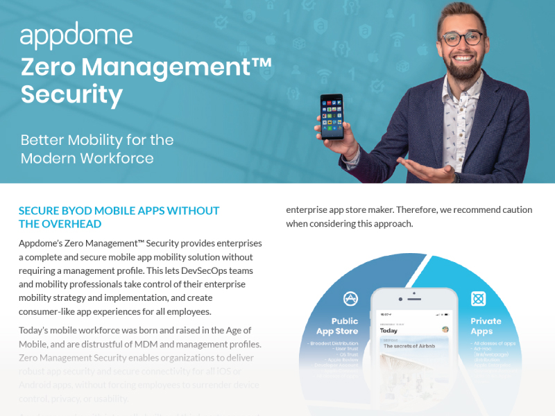 Appdome for Enterprise Mobility Overview