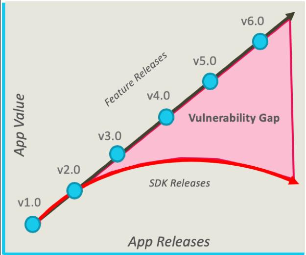 Mobile App Vulnerability Gap