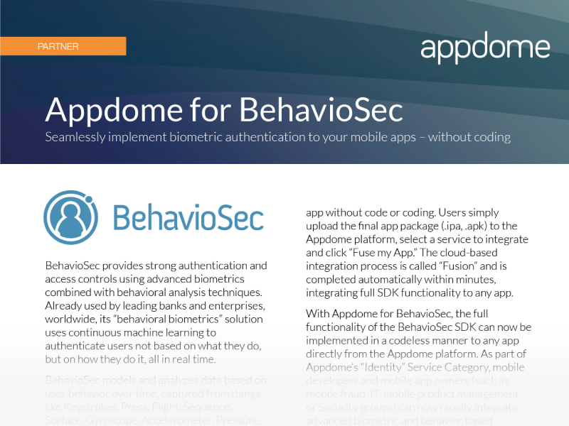 BehavioSec Integration