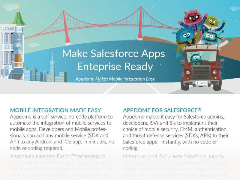 Make Salesforce Mobile Apps Enterprise Ready on Appdome