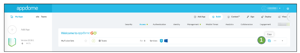 appdome mobile security templates
