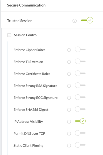 prevent man-in-the-middle-attacks with trusted session (IP Address Visibility)