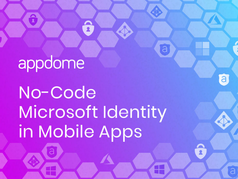 no code - Microsoft Authentication for mobile apps