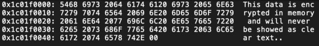 encrypt memory ios android