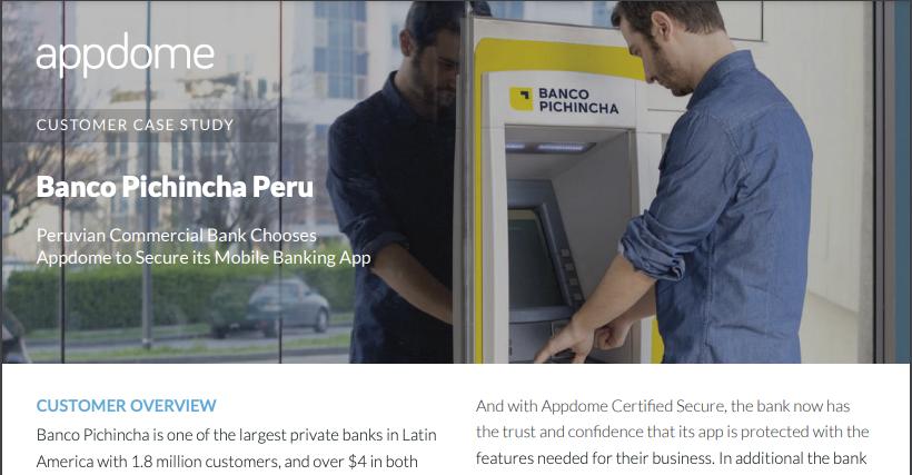 Appdome customer case study banco pichincha thumbnail