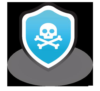 appdome anti piracy icon blue png