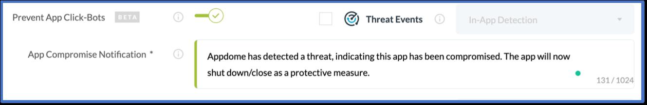 block click bots prevent mobile fraud appdome