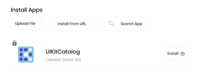 install apps kobiton