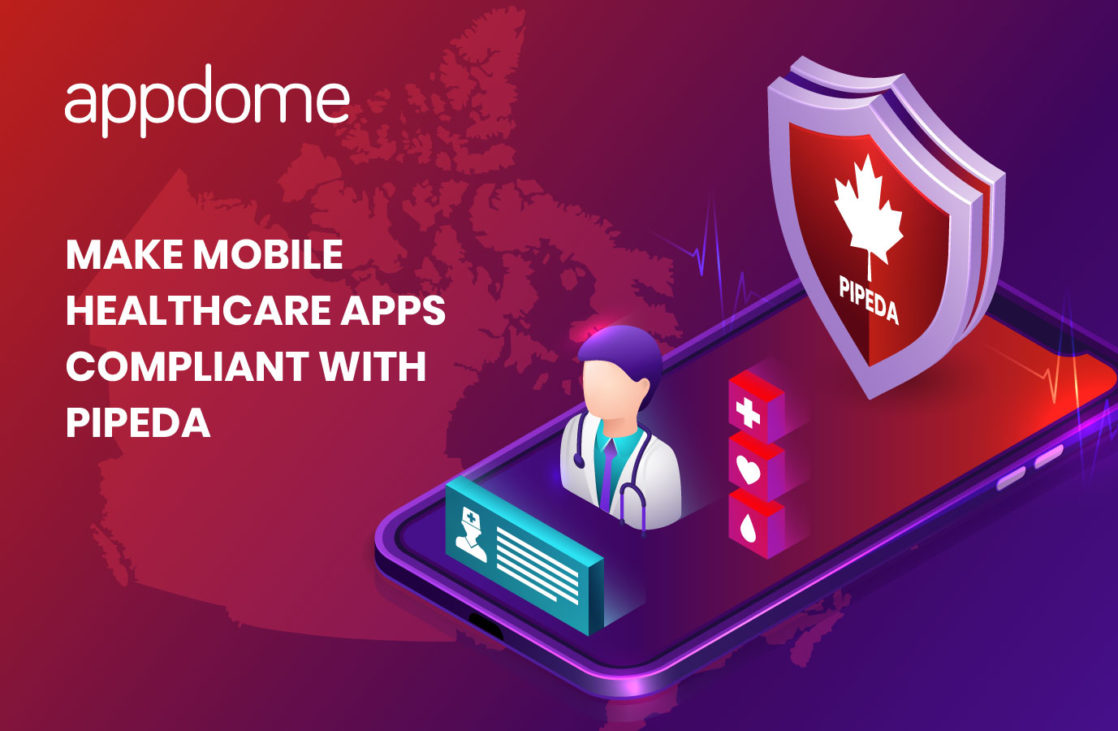 make mobile healthcare apps compliant with PIPEPA using Appdome