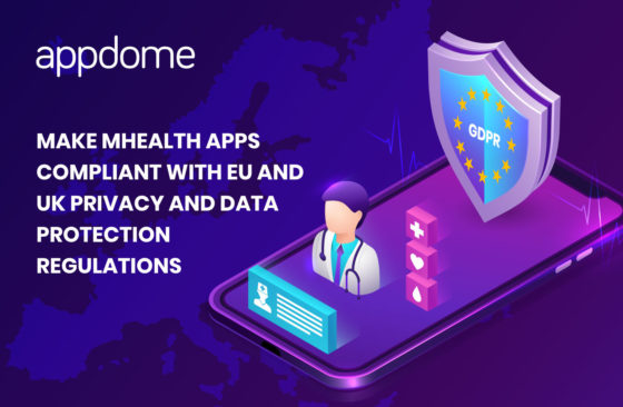 make mobile healthcare apps compliant with privacy and data protection regulations for GDPR and Data Protection Act