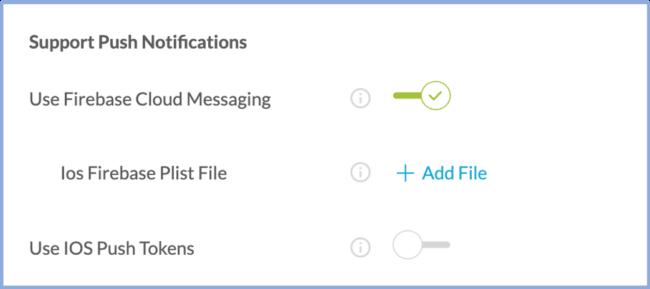 firebase push notifications secure pwa