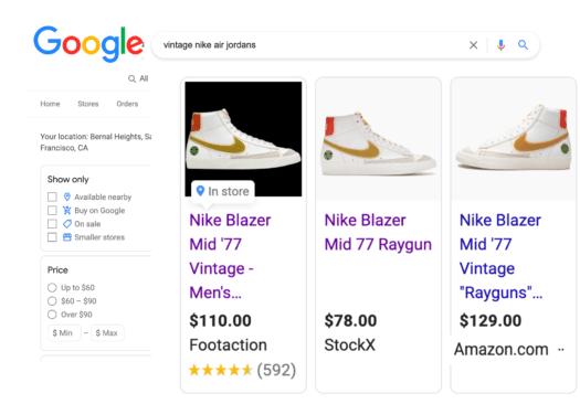 Nike.search.google